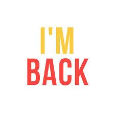 I'm back no 2