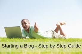 Starting a blog image